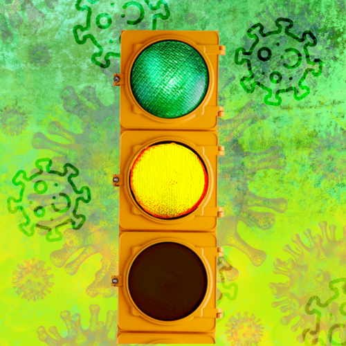 semaforo amarillo y verde